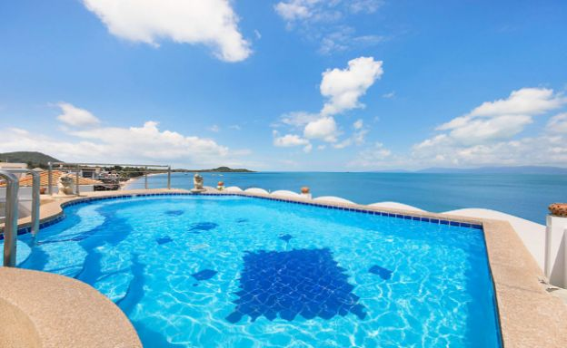 Modern 8 Bed Beachfront Hotel for Sale in Bophut