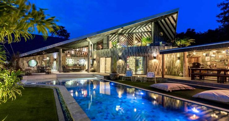 Rustic 5 Bedroom Luxury Pool Villa in Bophut-27