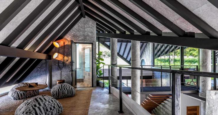 Rustic 5 Bedroom Luxury Pool Villa in Bophut-9