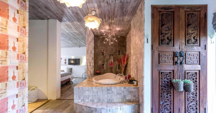 Rustic 5 Bedroom Luxury Pool Villa in Bophut-21