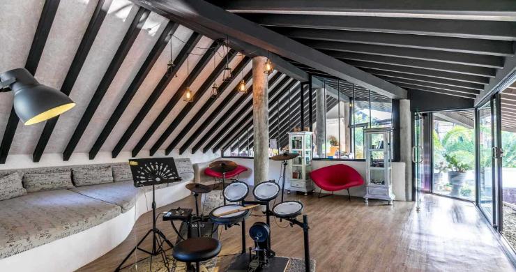 Rustic 5 Bedroom Luxury Pool Villa in Bophut-7
