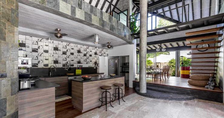 Rustic 5 Bedroom Luxury Pool Villa in Bophut-4