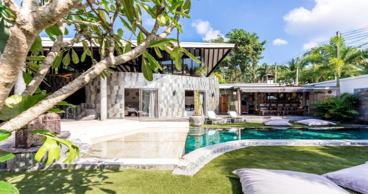 Rustic 5 Bedroom Luxury Pool Villa in Bophut-3
