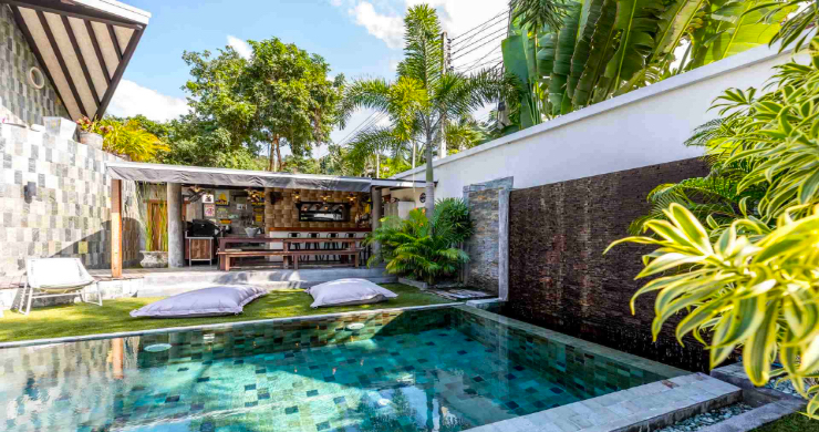 Rustic 5 Bedroom Luxury Pool Villa in Bophut-12