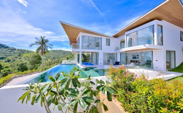 Luxury 3 Bedroom Sea View Pool Villa in Chaweng Noi