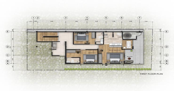 New 3 Bed Sea View Luxury Pool Villas in Bophut-16