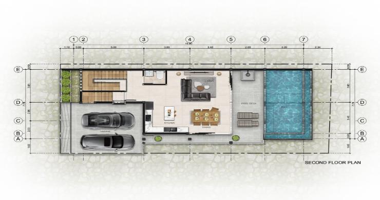 New 3 Bed Sea View Luxury Pool Villas in Bophut-15