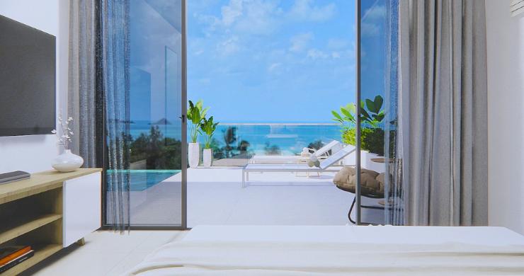 New 3 Bed Sea View Luxury Pool Villas in Bophut-12