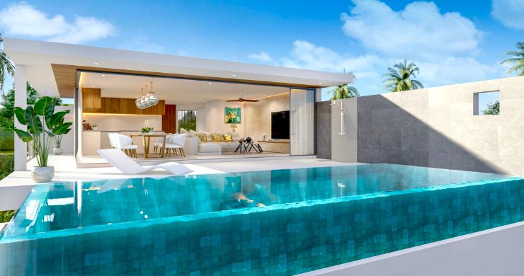 New 3 Bed Sea View Luxury Pool Villas in Bophut-9