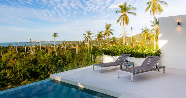 New 3 Bed Sea View Luxury Pool Villas in Bophut-6