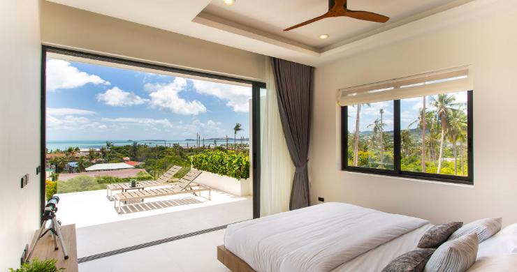 New 3 Bed Sea View Luxury Pool Villas in Bophut-5