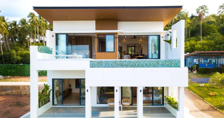 New 3 Bed Sea View Luxury Pool Villas in Bophut-2
