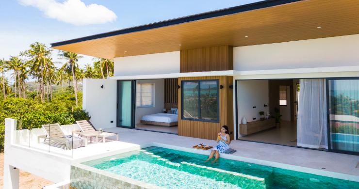 New 3 Bed Sea View Luxury Pool Villas in Bophut-3
