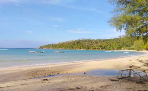 Beachfront 2 Rai Land for Sale in Koh Phangan