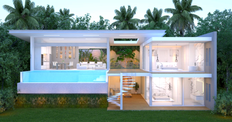 Spectacular 3-4 Bed Sea View Villas in Chaweng Noi-3