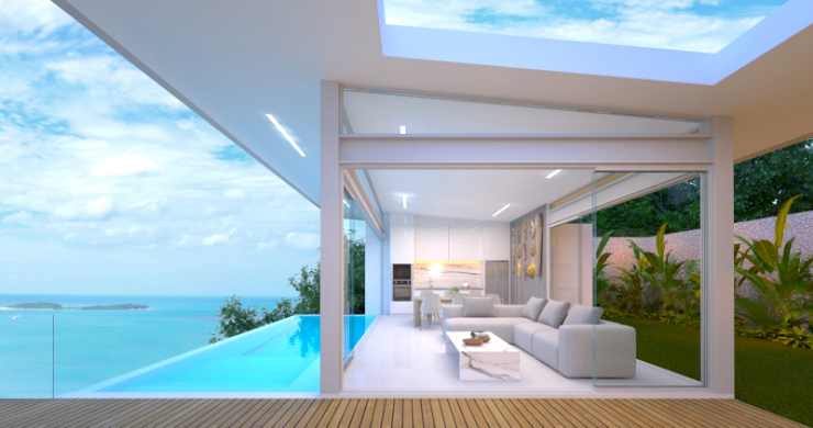 Spectacular 3-4 Bed Sea View Villas in Chaweng Noi-2