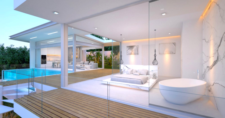 Spectacular 3-4 Bed Sea View Villas in Chaweng Noi-7