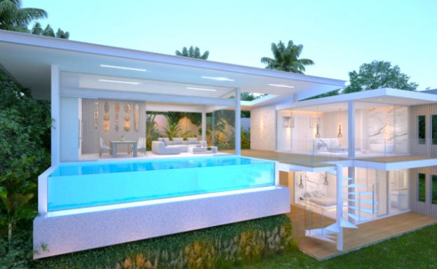 Spectacular 3-4 Bed Sea View Villas in Chaweng Noi