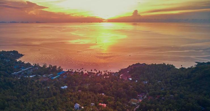 Amazing 180° Sunset Seaview Land in Koh Phangan-1