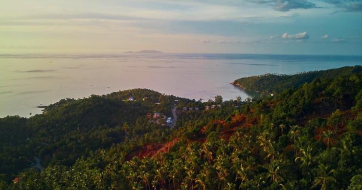 Amazing 180° Sunset Seaview Land in Koh Phangan-7