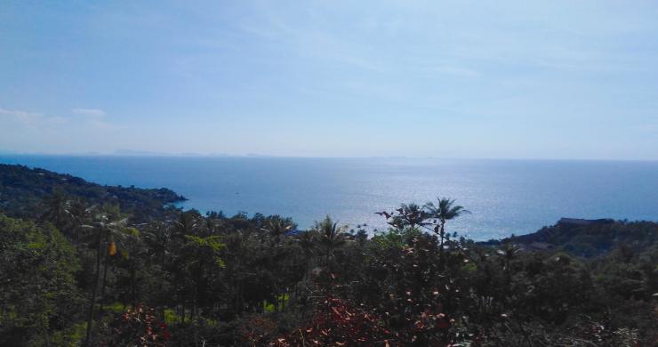 Amazing 180° Sunset Seaview Land in Koh Phangan-4