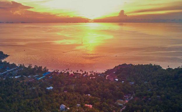 Amazing 180° Sunset Seaview Land in Koh Phangan