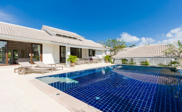 Tropical 3 Bed Pool Villa Residence for Sale in Bophut