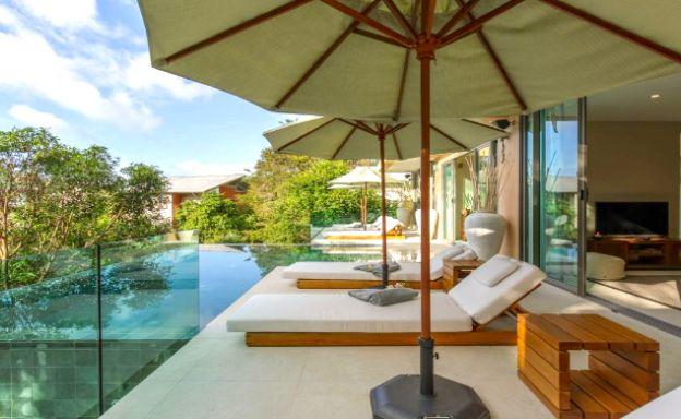 Elegant 3 Bed Luxury Sea View Villa in Haad Salad