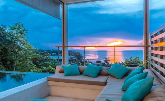 Charming 3 Bed Sunset Sea View Villa in Haad Salad