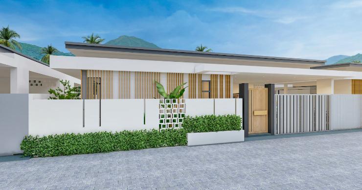 Beautiful New 2 Bedroom Pool Villas In Bophut-3