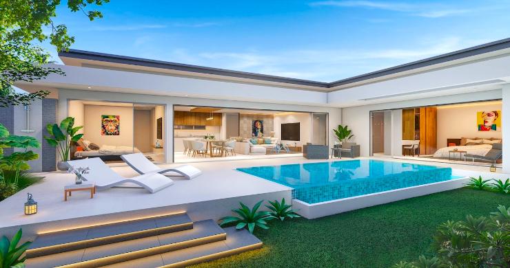 Beautiful New 2 Bedroom Pool Villas In Bophut-1