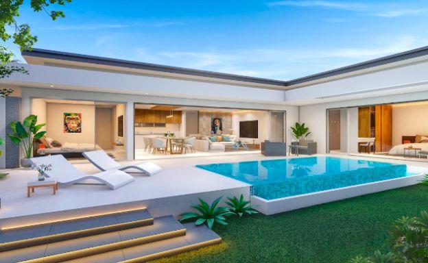 Beautiful New 2 Bedroom Pool Villas In Bophut