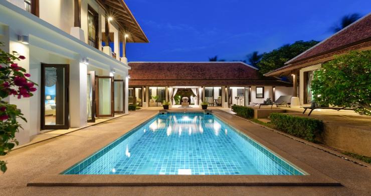 Beachside 4 Bed Tropical Garden Villa in Bangrak-24