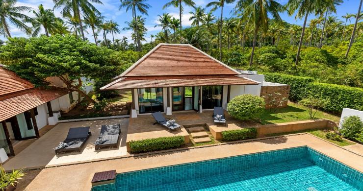 Beachside 4 Bed Tropical Garden Villa in Bangrak-3