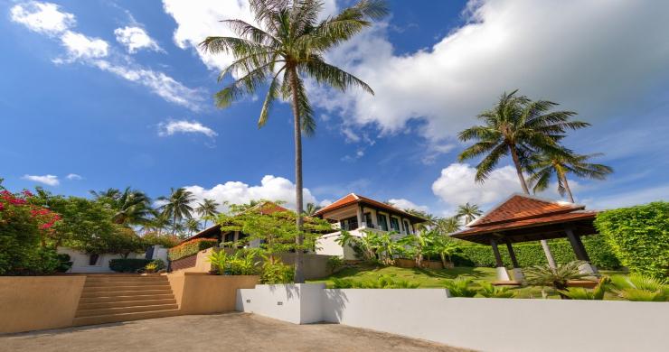 Beachside 4 Bed Tropical Garden Villa in Bangrak-19