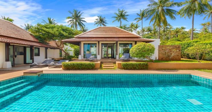 Beachside 4 Bed Tropical Garden Villa in Bangrak-1