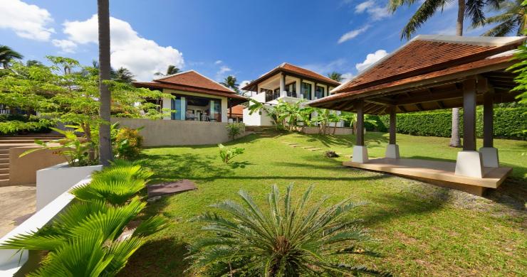 Beachside 4 Bed Tropical Garden Villa in Bangrak-22