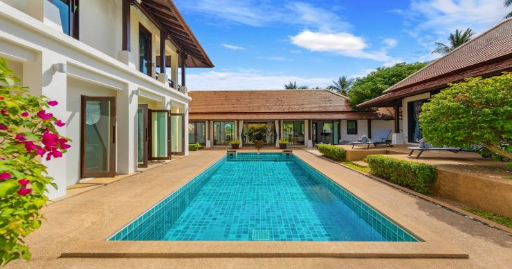 Beachside 4 Bed Tropical Garden Villa in Bangrak-2
