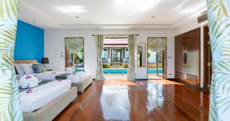 Beachside 4 Bed Tropical Garden Villa in Bangrak-17