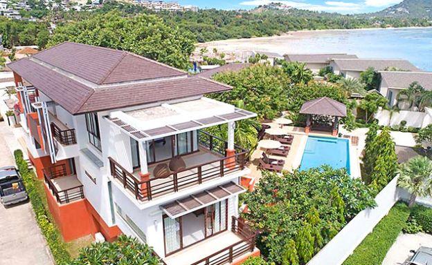 Elegant 4 Bedroom Luxury Sea View Villa in Plai Laem