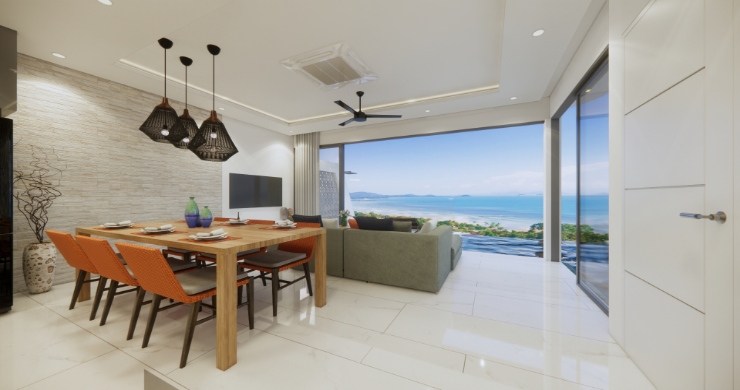 Luxury 3 Bed Villa Sea View Residence in Chaweng Noi-4