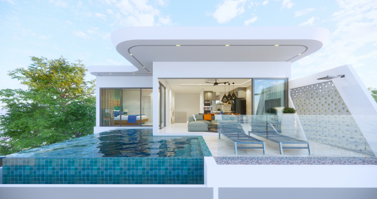 Luxury 3 Bed Villa Sea View Residence in Chaweng Noi-1