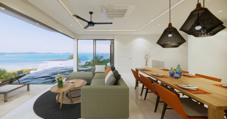 Luxury 3 Bed Villa Sea View Residence in Chaweng Noi-5