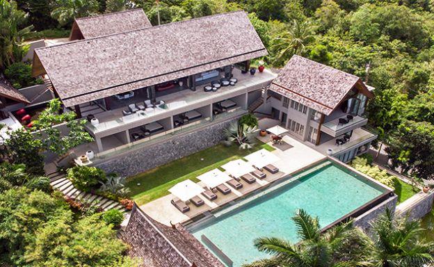 Palatial 6 Bedroom Luxury Sea View Villa in Bophut