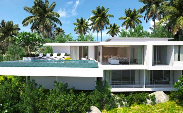 Unique 4 Bed Luxury Sea View Villa in Big Buddha