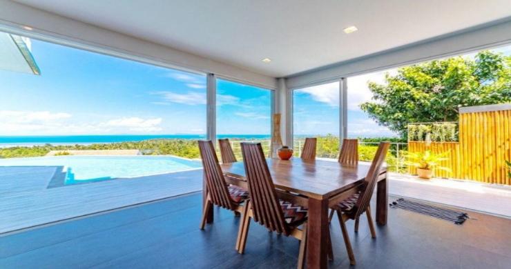 Marvellous 3 Bed Luxury Sea View Villa in Koh Phangan-3