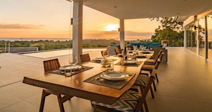 Marvellous 3 Bed Luxury Sea View Villa in Koh Phangan-12