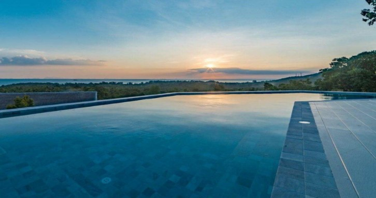 Marvellous 3 Bed Luxury Sea View Villa in Koh Phangan-15