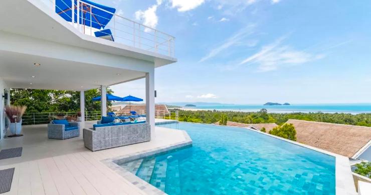 Marvellous 3 Bed Luxury Sea View Villa in Koh Phangan-2