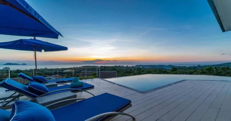 Marvellous 3 Bed Luxury Sea View Villa in Koh Phangan-11